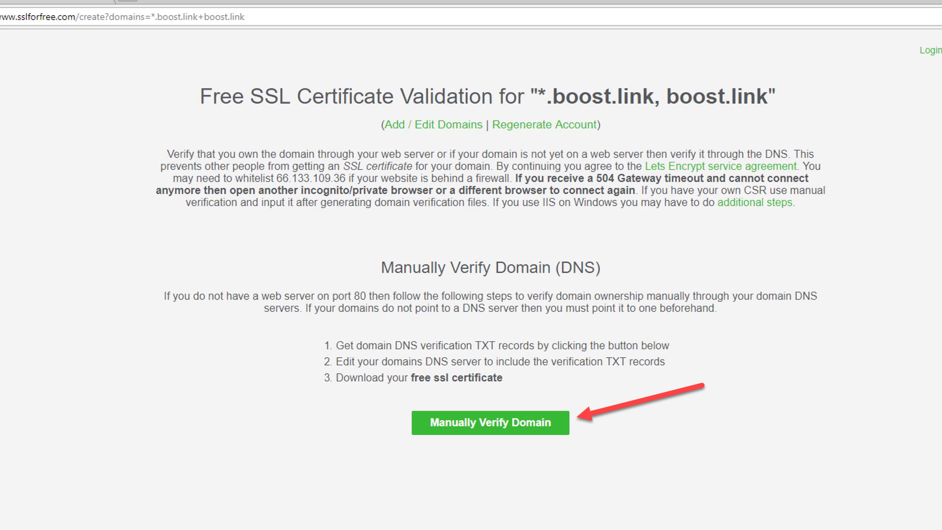 How To Correctly Set Up Your Custom Domain With Boost Update Boost